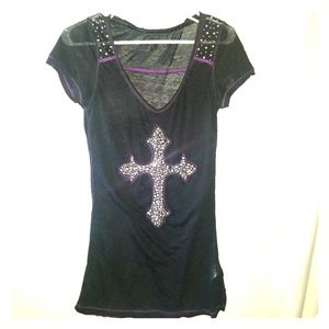 Maurices Premium bling top
